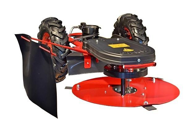 Podvozek bubnové sekačky RZS 69/W s odstředivou spojkou 80 mm
