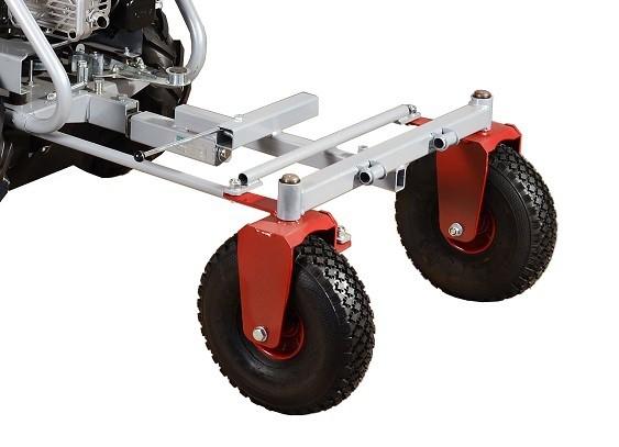 Podvozek řiditelného vozíku KOR 220 pro stroj Panter