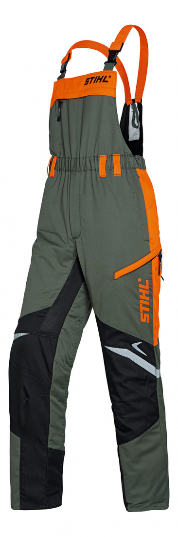 Kalhoty FUNCTION Ergo s náprseknou